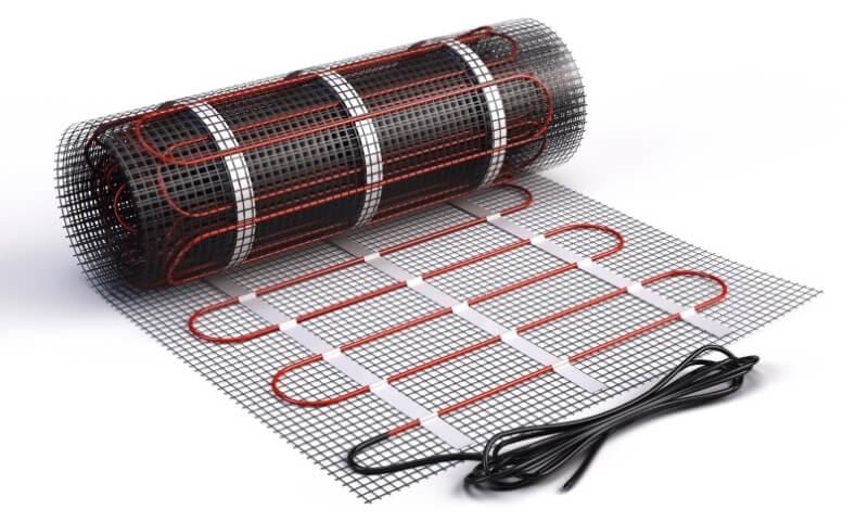 Vloerverwarming op matten
