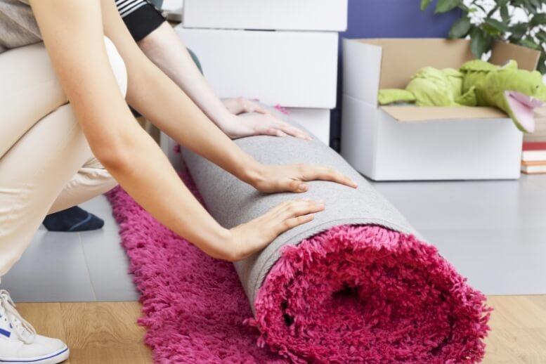 Vloerverwarming onder tapijt